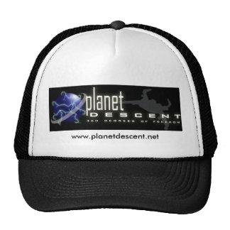 Chapéu do camionista de Descet do planeta Boné