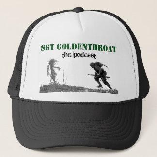 Chapéu do camionista de Sgt Goldenthroat Boné
