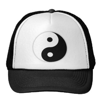 Chapéu do camionista de Yin e de Yang Boné