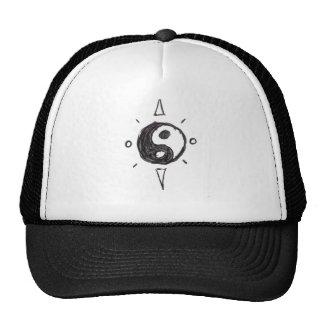 Chapéu do camionista de Yin-Yang Bone
