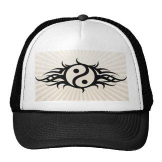 Chapéu do camionista de Yin Yang do tatuagem Boné