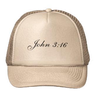 Chapéu do camionista do 3:16 de John Boné