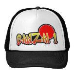 Chapéu do camionista do Banzai Bonés