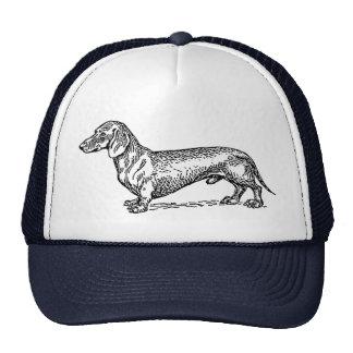 Chapéu do camionista do cão do Dachshund Boné