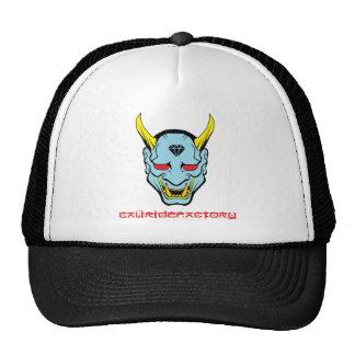 Chapéu do camionista do demónio da fábrica do boné