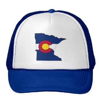 Chapéu do camionista do esboço de Minnesota da Boné