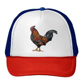 Chapéu do camionista do galo boné