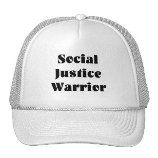 Chapéu do camionista do guerreiro de justiça boné