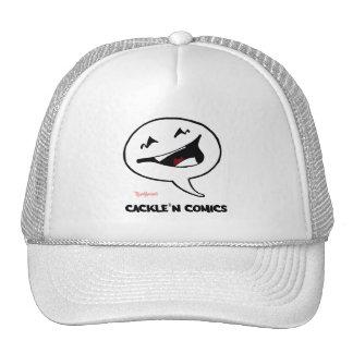 Chapéu do camionista do logotipo da história em boné