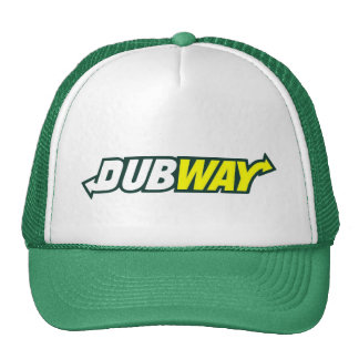 Chapéu do camionista do logotipo da paródia de Dub Boné