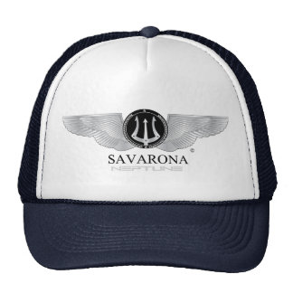 Chapéu do camionista do logotipo de Savarona Boné
