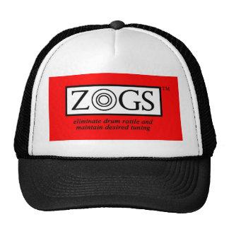 Chapéu do camionista do logotipo de ZOGS Boné
