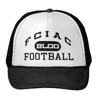 chapéu do camionista do logotipo do blogue do fcia bones