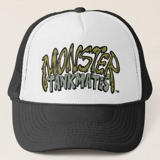 Chapéu do camionista do logotipo do monstro do TM Boné