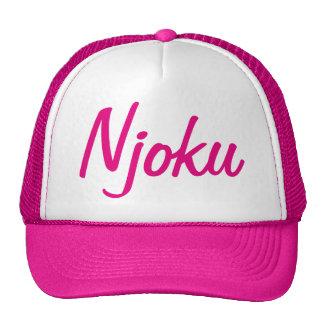 """Chapéu do camionista do logotipo do """"rosa"""" de boné"""
