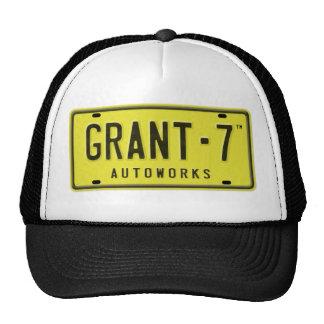 Chapéu do camionista do logotipo G7 Boné