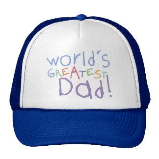 Chapéu do camionista do pai de ChildKids o grande Boné