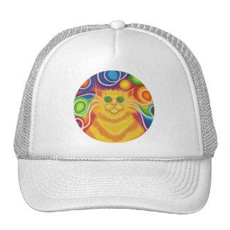 chapéu do camionista do Psy-gato-delic Boné