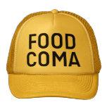 Chapéu do camionista do slogan do COMA da COMIDA Boné