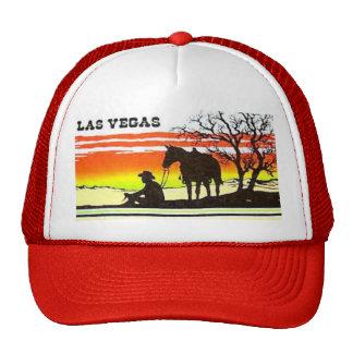 Chapéu do camionista do vaqueiro do por do sol de  boné