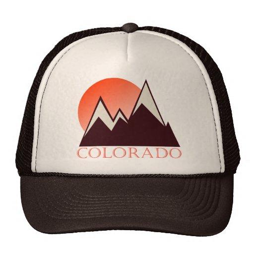 Chapéu do camionista do vintage de Colorado Bone