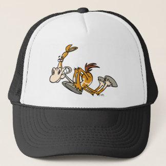 Chapéu do camionista dos desenhos animados do boné