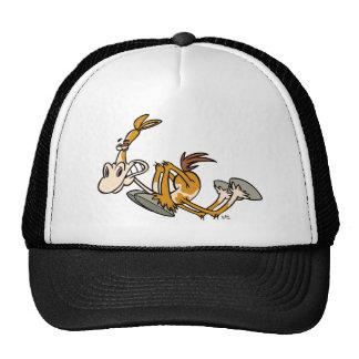 Chapéu do camionista dos desenhos animados do pode boné