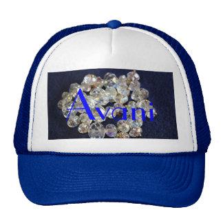 Chapéu do camionista dos diamantes de Avani Bonés
