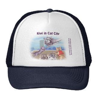 Chapéu do camionista - gatos & caticopter (séries  bone
