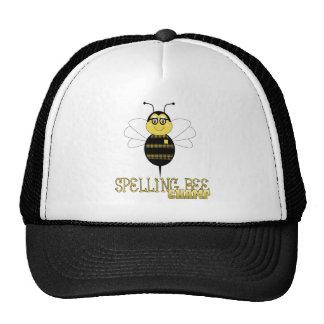Chapéu do campeão do concurso de ortografia boné