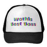 Chapéu do chefe do mundo o melhor bone