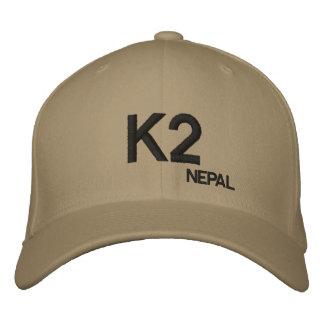 Chapéu do costume de Nepal da montanha K2 Boné Bordado