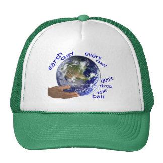 chapéu do Dia da Terra Bonés