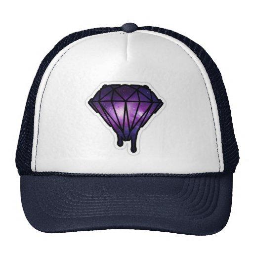 Chapéu do diamante do gotejamento bonés