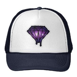 Chapéu do diamante do gotejamento boné
