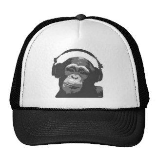 Chapéu do DJ do macaco Boné