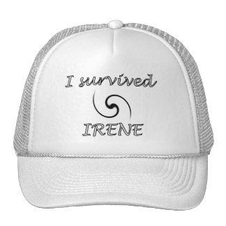 Chapéu do ~ do sobrevivente de Irene Boné