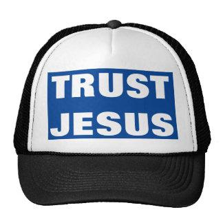 Chapéu do evangelismo de Jesus da confiança Boné