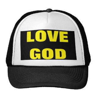 Chapéu do evangelismo do deus do amor boné