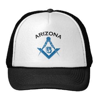 Chapéu do Freemason da arizona Boné
