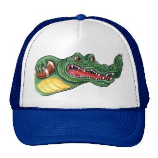 Chapéu do futebol do jacaré bone