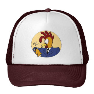Chapéu do galo dos desenhos animados bone