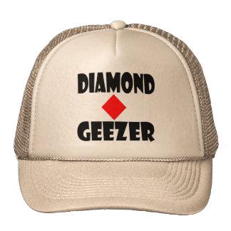 chapéu do geezer do diamante bonés