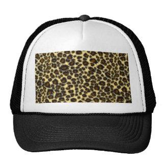 Chapéu do impressão do leopardo boné