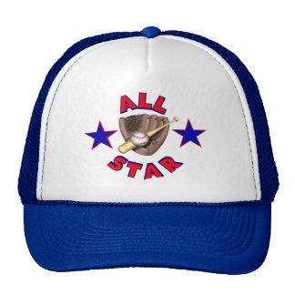 Chapéu do jogador de beisebol de All Star Boné