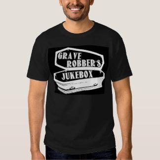 Chapéu do jukebox do ladrão grave camiseta