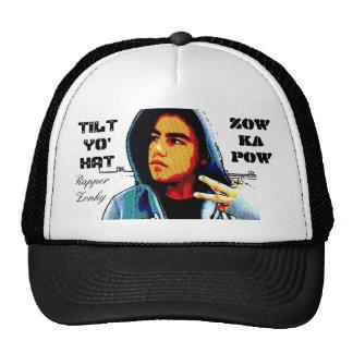 chapéu do kapow do zow (chapéu do yo da inclinação boné