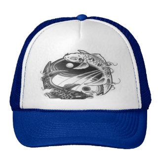 chapéu do koi de yang do yin boné