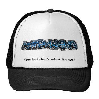 Chapéu do logotipo da adrenalina boné