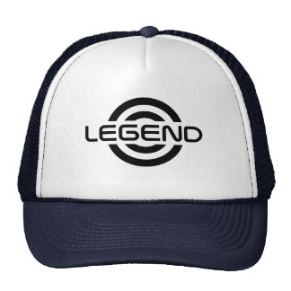 Chapéu do logotipo da legenda boné